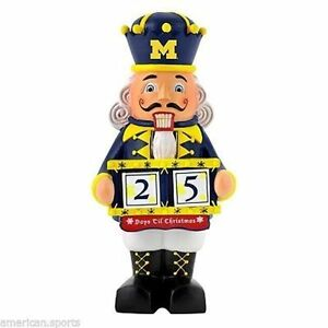 image is loading michigan wolverines ncaa football basketball christmas nutcracker day - Christmas Day College Football