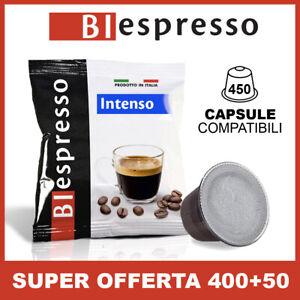 400+50 gratis Capsule Caffè BIESPRESSO compatibili Nespresso gusto Intenso