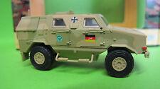 Schuco 1:87 Military Dingo I. beige ISAF BW art. 26244 NUOVO 2017
