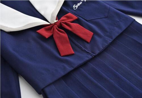 JK Women Girl Japanese Sailor High School Uniform Costume Cosplay Outfit