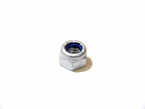50pcs Aluminum Fastener Nylon Lock Nut 5//16 x 18UAAC