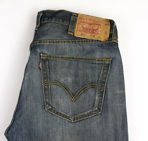 Levi-039-s-Strauss-amp-Co-Hommes-501-Jeans-Jambe-Droite-Taille-W38-L34-APZ1046