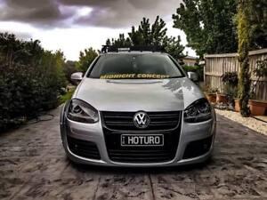 Fits Volkswagen VW Golf MK5 (Vinyl Sticker) Eyelids-GTI R32-TDI-TFSI Gloss Black