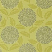 Sanderson Wallpaper, Amari Papers Collection, Design: Ceres, Colour: Lime