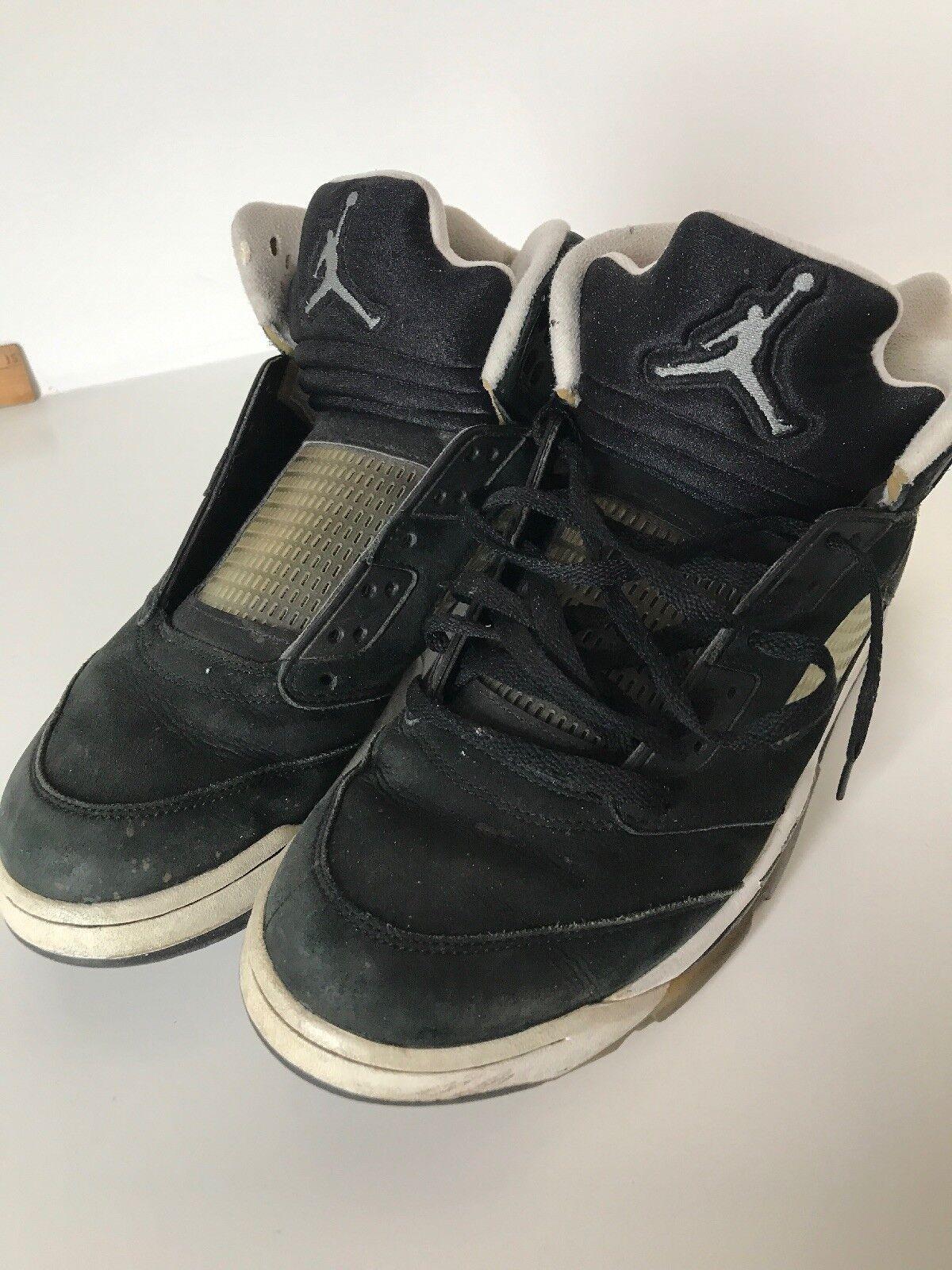 Nike Air Jordan 4 Retro Royalty (308497-032) Men's shoes - Black Metallic...