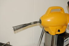 """NEW Pipe Drain Cleaning Machine 3/4""""-4"""" Sectional B Snake Cleaner BLUEROCK S75"""