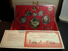 S-73: Scarce Singapore 1980 PROOF Set, c/w Certs, No 07792 in Teak Box