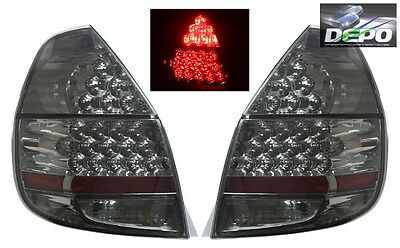 fits 2007-2008 Honda Fit Jazz GD3 FULL LED ALL SMOKED Tail Lights DEPO