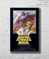 star wars EWOKS movie poster CLASSIC CHARACTERS kids animated story 24X36