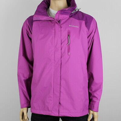 "New Womens Columbia /""Summit Sleeker/"" Omni-Tech Waterproof Rain Shell Jacket"