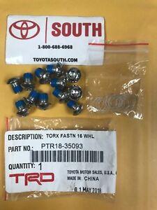Genuine Toyota PTR18-35093 TRD Lock Ring Fastener