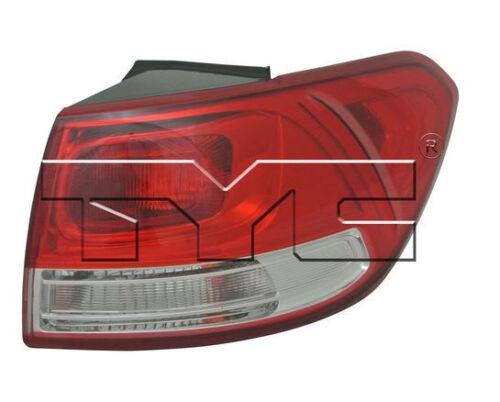 TYC NSF Right Side Tail Light Assy for Kia Sorento 2016-2017 Models
