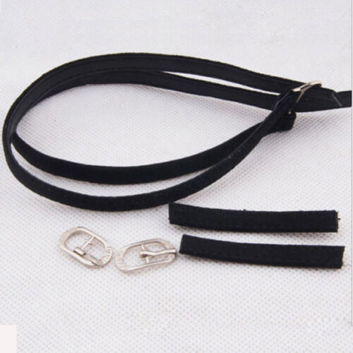 Women Girls Leather Shoe Straps Laces Band for Holding Loose High Heeled Shoes