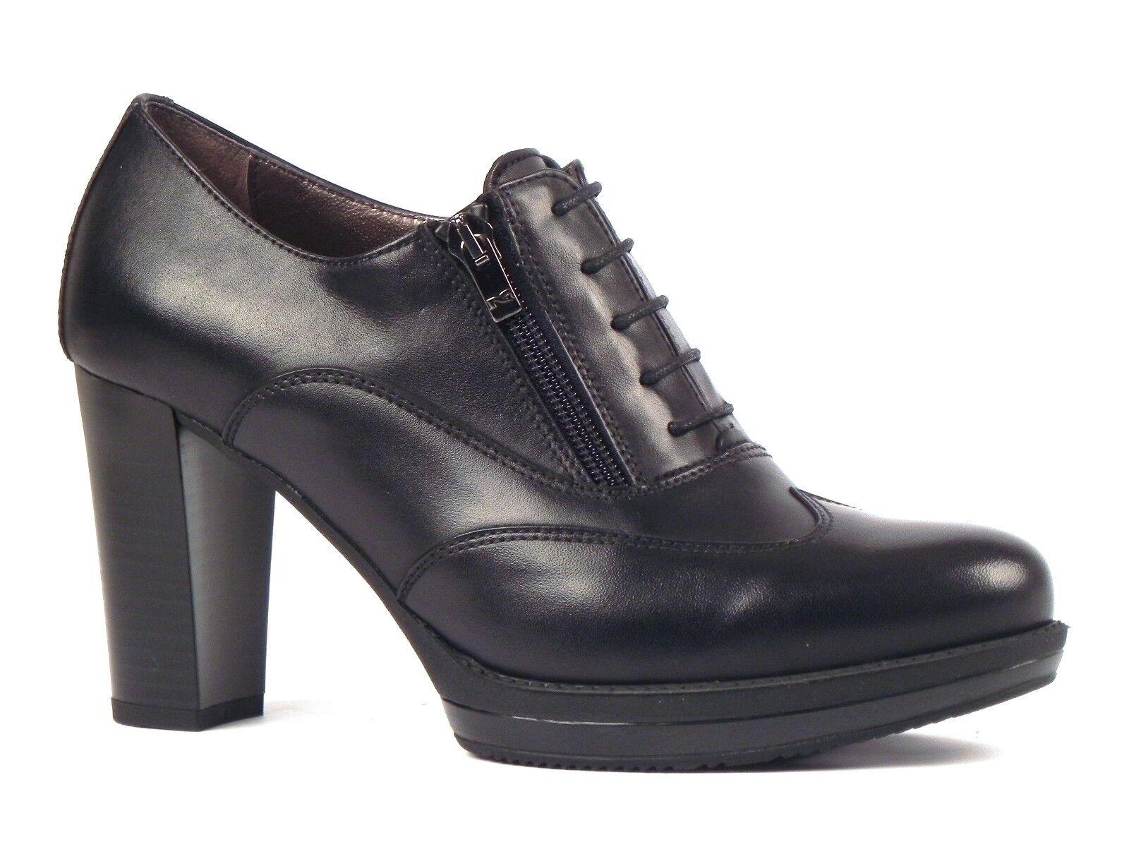 zapatos mujer negro GIARDINI INVERNO A616400D 100  TRONCHETTI negro
