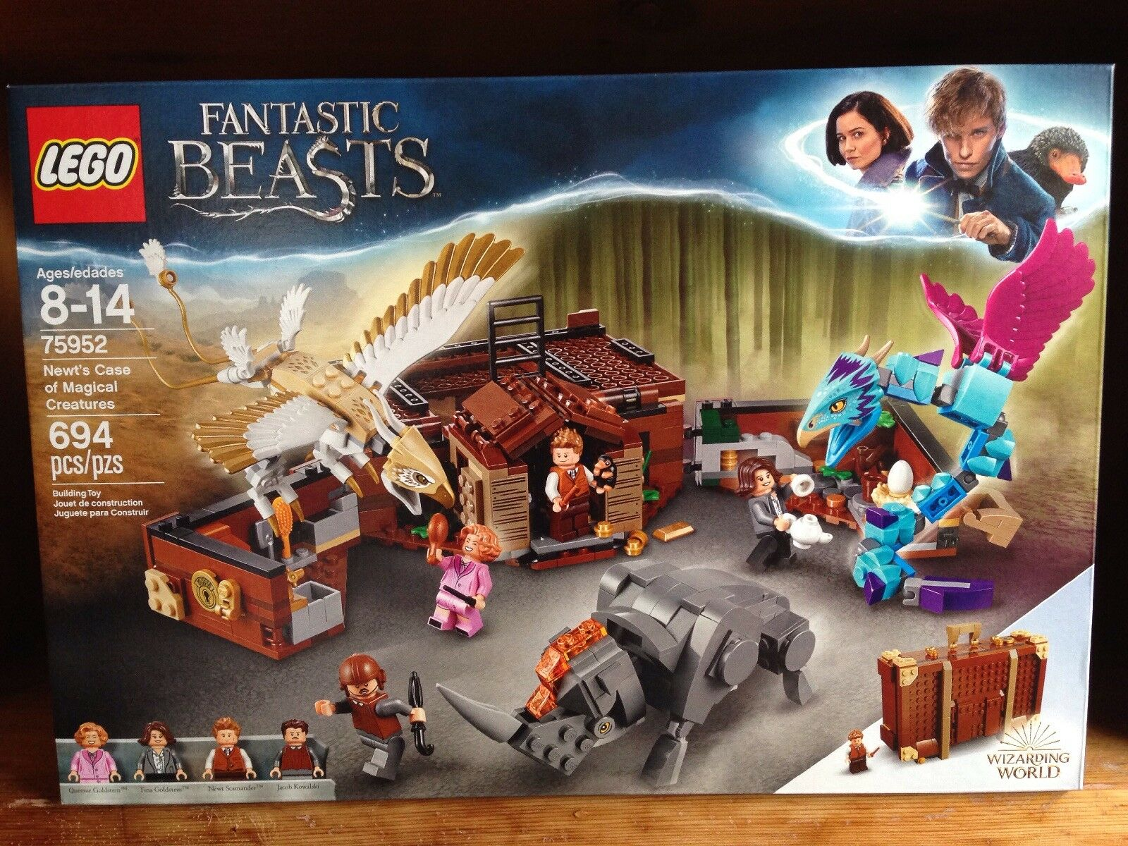 LEGO Fantastic Beasts Nuovot's Case Of Magical Creatures Building Set 75952 MISB