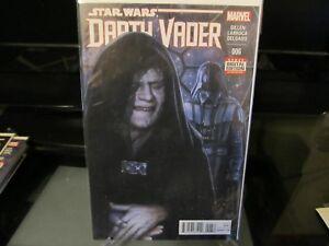 Star Wars Darth Vader #6 1st print (April 2015, Marvel)
