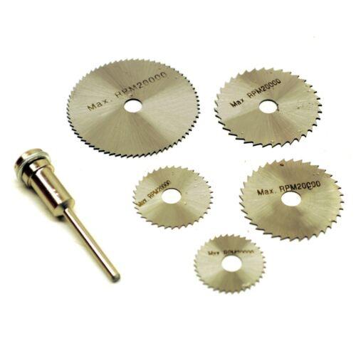 6PC-HSS-Mini Kreissäge Kreis rotierenden Trennscheibe Blade