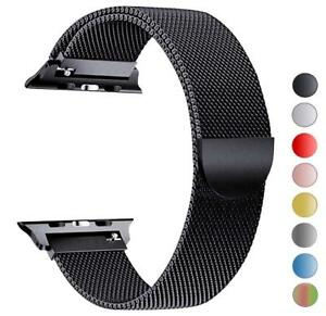 Milanese-Loop-Strap-Watch-Band-For-Apple-Watch-Series-1-2-3-4-38-40-42-44MM