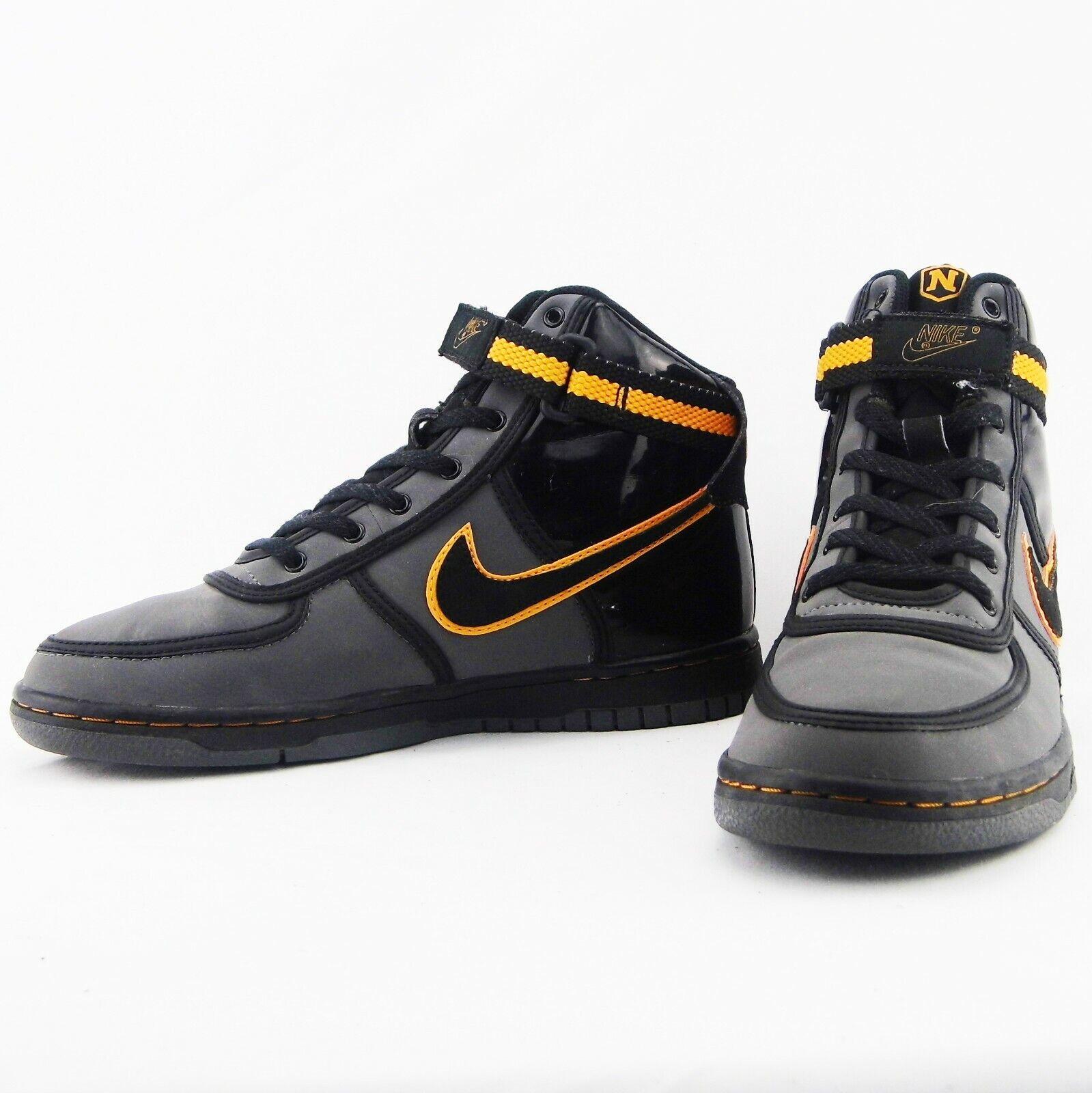 VINTAGE (2009) Nike Vandal High GS Batman Inspired Sneakers  314674-002 Sz 5.5Y
