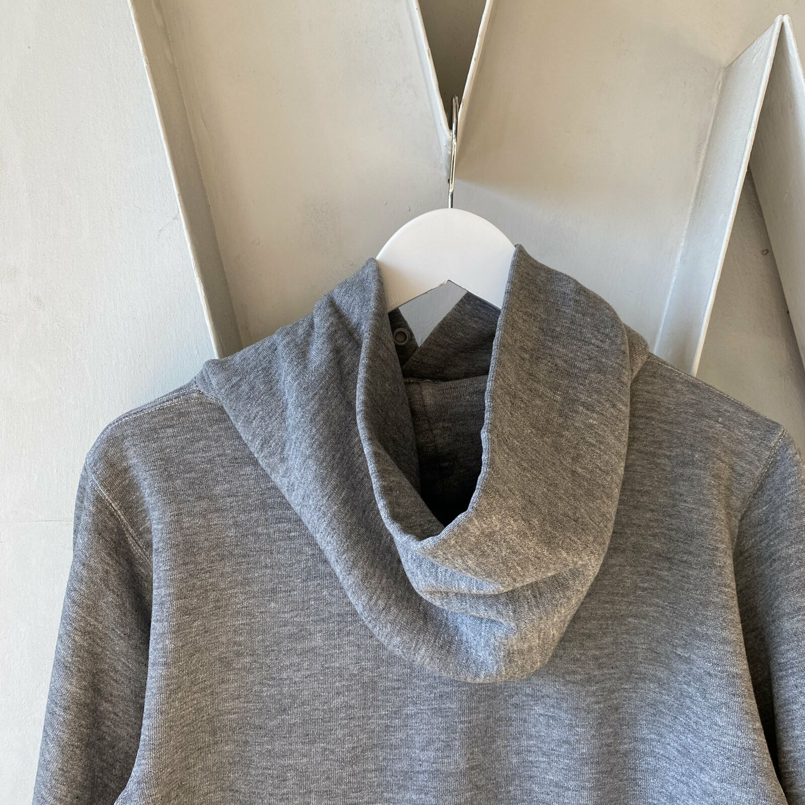 Vintage Heather 70s Russell The Big Run Hoodie Cl… - image 3