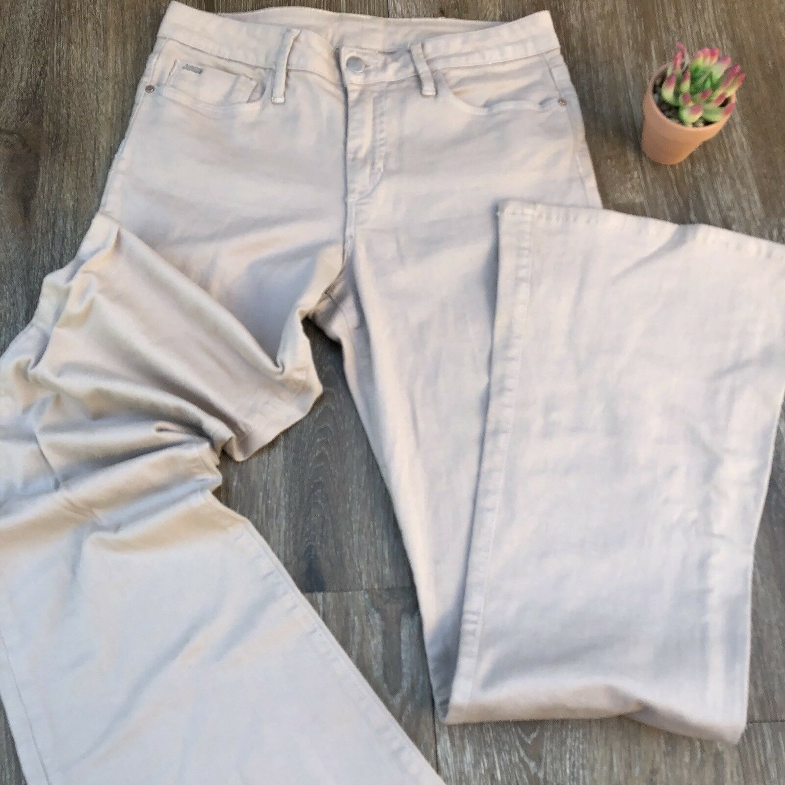 JOE'S Sexy VISIONAIRE Flare Cream Jeans Size 29 Joes Jeans