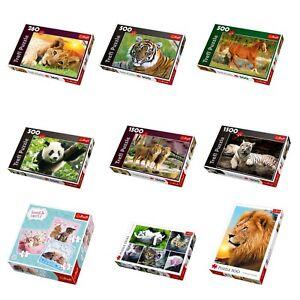 Trefl-500-1500-pc-Jigsaw-Puzzle-Games-Animals-Lion-Cat-Horse-Tiger-Panda-Kittens