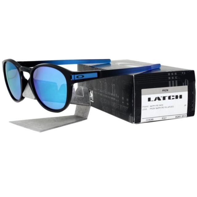 55e7814106b Oakley OO 9265-1853 POLARIZED LATCH Sapphire Fade Prizm Lens Mens Sunglasses