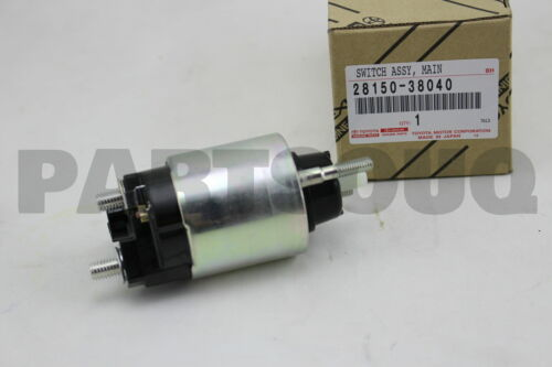 MAGNET STARTER 28150-38040 2815038040 Genuine Toyota SWITCH ASSY