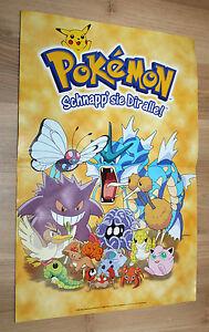 1999 Nintendo 64 N64 Jet Force Gemini / Pokemon very rare small Poster 44x30cm - Bielefeld, Deutschland - 1999 Nintendo 64 N64 Jet Force Gemini / Pokemon very rare small Poster 44x30cm - Bielefeld, Deutschland