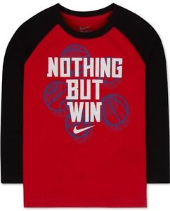 cb91e387 Image is loading Nike-Longsleeve-NOTHING-BUT-WIN-Basketball-Graphic-Tee-