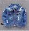 Boys Distressed Denim Jacket Fashion Jeans Coat Tops Toddler Kids Ripped UK 2019