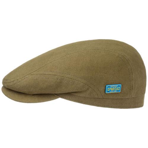 Stetson Leadville Flat Cap Men Caps flat hat linen cap cotton hats