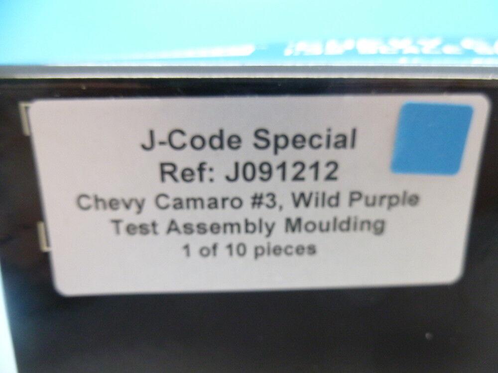 Pioneer J091212 J-Code Camaro Wild Violet Violet Violet Test Assemblée moulage 1 de 10 9ee450