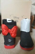 item 2 UGG DISNEY MINNIE BLACK SWEETIE BOW CLASSIC BOOTS 4 KIDS FITS 6 WOMEN LIMITED -UGG DISNEY MINNIE BLACK SWEETIE BOW CLASSIC BOOTS 4 KIDS FITS 6 WOMEN ...