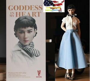 1//6 Audrey Hepburn Roman Holiday Female Figure Premium Full Set ☆USA IN STOCK☆