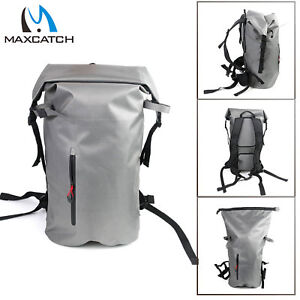 Details about Maxcatch 100% Waterproof Backpack Waterproof Hurricane Roll  Top Pack bag 30L 73db114243679