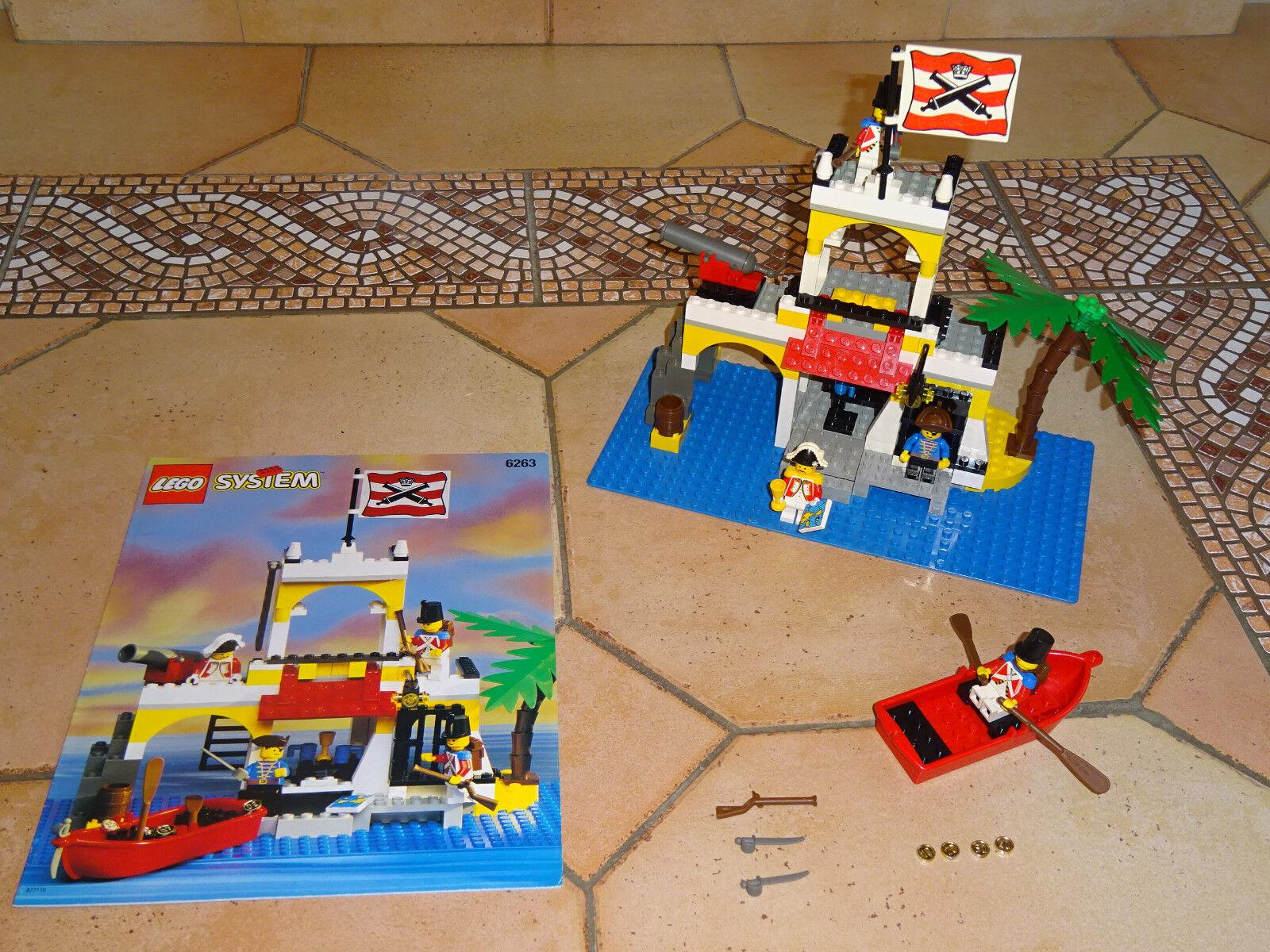 Lego 6263 Pirates Imperials IMPERIAL OUTPOST COMPLET A 100  % + NOTICE  profitez de 50% de réduction