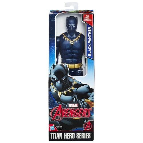 Marvel Black Panther 12 inch Figure Titan Hero Series Brand New