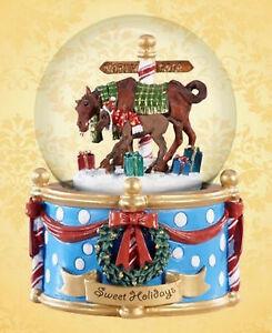 Modellpferd-Breyer-700234-Sweet-Holidays-Musical-Snow-Globe