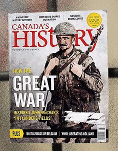 Canada-039-s-History-Magazine-April-May-2015-Flanders-Fields-Belgium-Holland