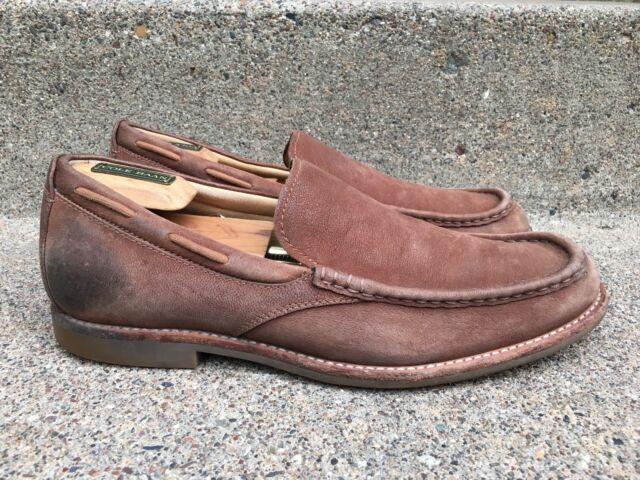 c3e436b2947 Ugg Australia 1002442 Men's Leather Loafers Via Pointe Chestnut Slip ...