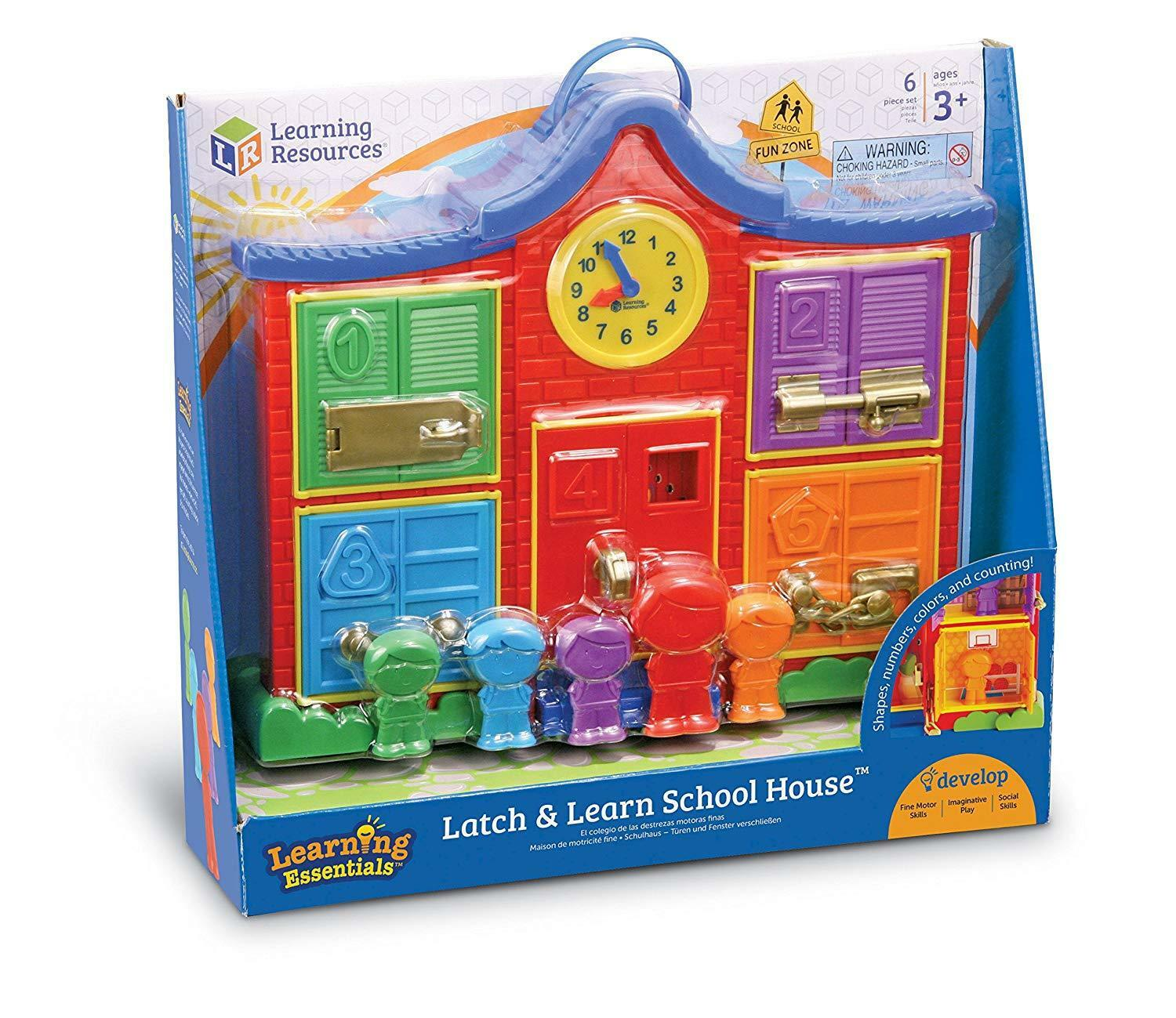 Learning Resources Latch & Learn School House (Ages 3+) BRAND NEW