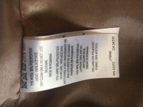 en Great Plains Taille crayon Robe Xs laine beige grise qpWTF