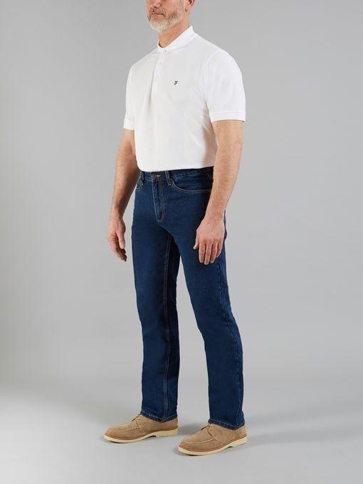 Farah - Darwood Rigid Classic Denim Jeans, W38 L34, Brand New