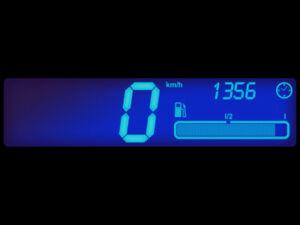 Letronix-LED-iluminacion-velocimetro-de-colores-Renault-Twingo-1-2-LEDs-lamina-ningun-soldadura