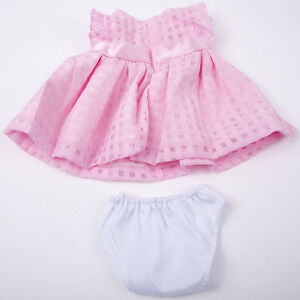 Handmade-Pink-Bowknot-Summer-Dress-Doll-Clothes-fits-18-034-Doll-Nice