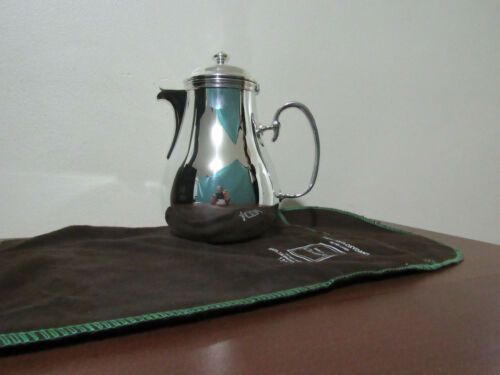 CHRISTOFLE FRANCE ALBI COFFEE POT SILVER PLATE