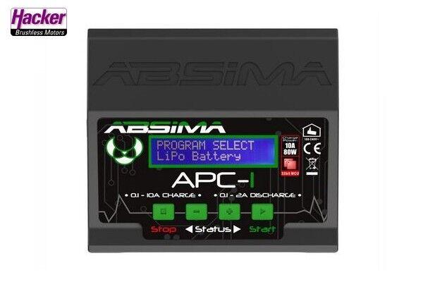 Absima Cargador APC-1 12 230V Universal Cargador Rápido 61005004