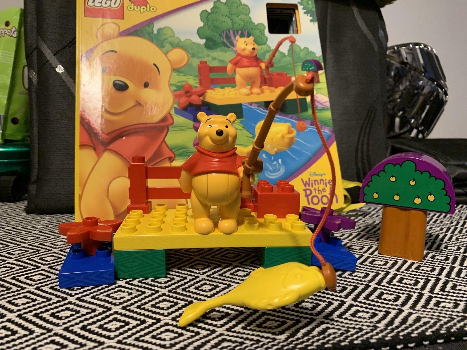 DUPLO WINNIE THE POOH LEGO Pop Up House 2979  2001  estremamente difficile da trovare