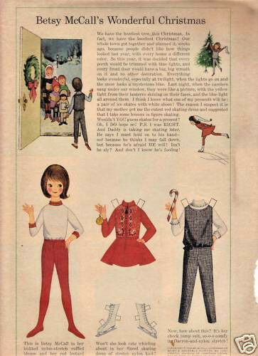 BETSY McCALL/'S WONDERFUL CHRISTMAS-1964